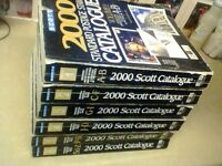 THE COMPLEATE SET OF 6 STAMP COLLECTING BOOKS