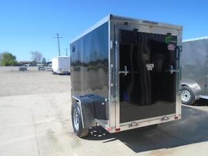 MOTORCYCLE TRAILER ALL ALUMINUM NEO 5X9' - LIGHT WEIGHT London Ontario image 3