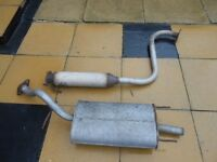 MG/ZR MIDDLE & REAR EXHAUST