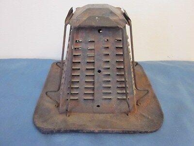 Vintage Tin Metal Toaster for Campfire - 4 Slices