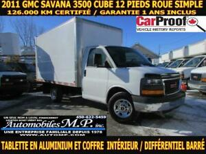 2011 Gmc Savana 3500 126.000 KM TABLETTE INTÉRIEUR ROUE SIMPLE