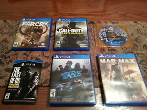 (VERY MINT!) GREAT PLAYSTATION PS4 GAMES