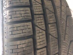 Pneus hiver 225/50r17 Pirelli Sottozero sur rims