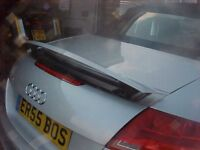 November 2007 Audi tt 197bhp Auto