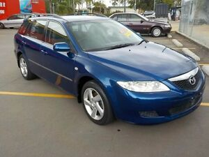 2005 Mazda 6 GG 05 Upgrade Classic Blue 5 Speed Auto Activematic Wagon Deception Bay Caboolture Area Preview