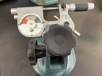 Etalon Precision Indicating Micrometer 0-1 .0001 Jeweled Friction And Lock Nut