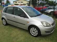 2006 Ford Fiesta WQ LX Silver 5 Speed Manual Hatchback Kippa-ring Redcliffe Area Preview