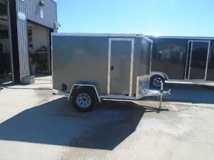 MOTORCYCLE TRAILER ALL ALUMINUM NEO 5X9' - LIGHT WEIGHT London Ontario image 7
