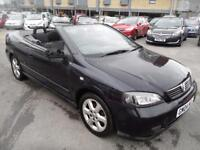 VAUXHALL ASTRA 1.8 COUPE CONVERTIBLE 16V 2d 125 BHP (blue) 2004