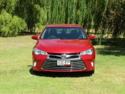 2015 Toyota Camry ASV50R Altise Red 6 Speed Sports Automatic Sedan Littlehampton Mount Barker Area Preview