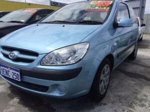 2007 Hyundai Getz TB Click Hatchback 3dr Man 5sp 1.4i Blue Manual Hatchback Maddington Gosnells Area Preview
