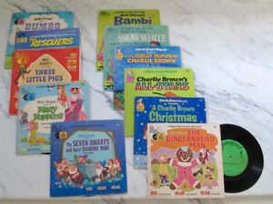 Children's storybook and records (33 1/3 or 45's)