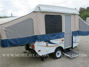 *FOREST RIVER CLIPPER*CLEAN!*PRE-OWNED TENT TRAILER FOR SALE*