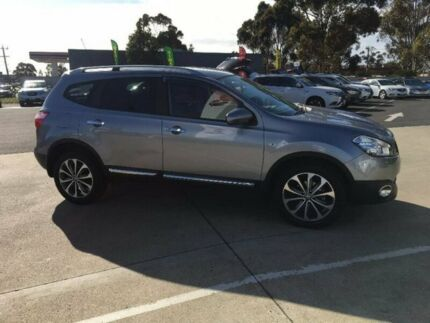 2011 Nissan Dualis J10 Series II MY2010 +2 Hatch X-tronic Ti Grey 6 Speed Constant Variable Hoppers Crossing Wyndham Area Preview
