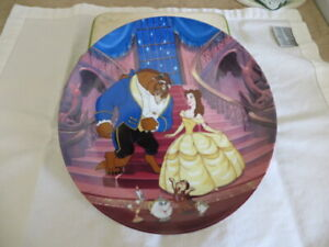 Beauty & The Beast Collector Porcelain Plate Set