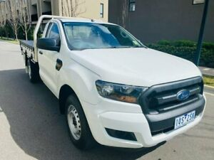 2018 Ford Ranger PX MkIII 2019.00MY XL White 6 Speed Manual Cab Chassis Maidstone Maribyrnong Area Preview
