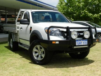 2009 Ford Ranger PK XL White 5 Speed Automatic Cab Chassis Victoria Park Victoria Park Area Preview