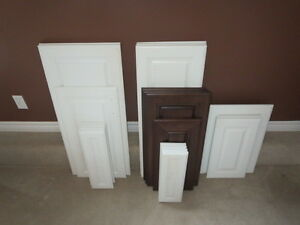 Kitchen Cupboard Doors, Drawer Faces and Cherry Veneer for Sale