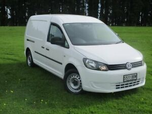 2014 Volkswagen Caddy 2KN MY14 TDI250 BlueMOTION Maxi DSG White 7 Speed Sports Automatic Dual Clutch Gepps Cross Port Adelaide Area Preview