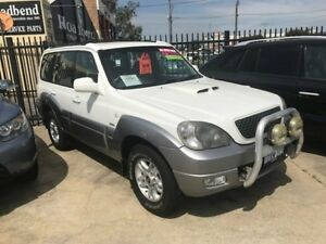 2006 Hyundai Terracan HP MY06 White 5 Speed Manual Wagon St James Victoria Park Area Preview