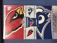 £40 each... 3x NFL american football tickets Cardinals v Rams at Twickenham, good seats