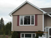 Siding, 5 & 6 Seamless Eaves, Soffit, Windows, Doors, Stone