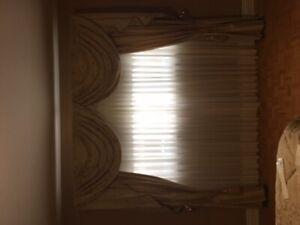 Bedroom, living room, dinning room drapes