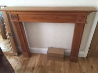 Wooden fire place surround FREE!!!!