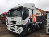 Tractor unit , Iveco Stralis euro 4 with 450 engine and manual gearbox.