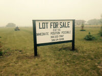 Acreage for Sale - Can Build to suit