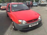2001 Ford Fiesta van, starts and drives well, located in Gravesend Kent, no MOT, any questions give