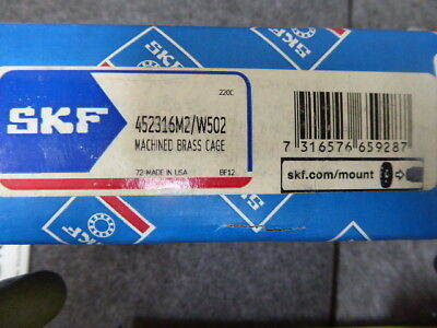 Skf 452316 M2502 Explorer Spherical Roller Bearing Machine Brass Cage