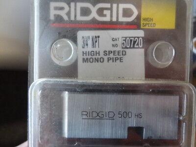 Ridgid 34 Npt High Speed Mono Pipe Die Cat 50720 New In Package Nos