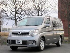 FACELIFT NISSAN ELGRAND E51 3.5 VG AUTOMATIC 6 7 8 SEATER * ONLY 35000 MILES