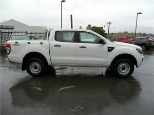 2013 Ford Ranger PX XL Double Cab White 6 Speed Sports Automatic Utility Telarah Maitland Area Preview