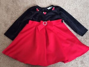 Baby Girl Holiday Dress, size 18M
