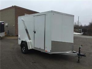6x10 PACE ELITE ALL ALUMINUM CARGO TRAILER - RAMP & RAMP PKG