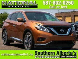 2015 Nissan Murano SL - HEATED FRONT AND BACK LEATHER SEATS- PAN