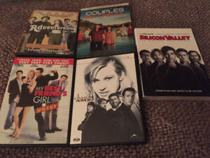 Various DVD's and HBO's Silicon Valley Season 1