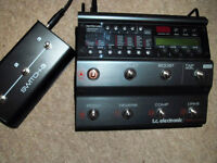TC Nova Guitar Effects system with Switch-3 controller - Perfect Condition