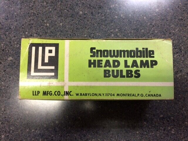 VINTAGE 12V 35W SNOWMOBILE LIGHT BULB 10 PACK BA20S BASE STANLEY#A7275