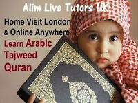 ARABIC ⭐QURAN ⭐ TAJWEED ⭐ PRIVATE HOME TUTORS IN LONDON & PROFESSIONAL ONLINE LESSONS FOR CHILDREN