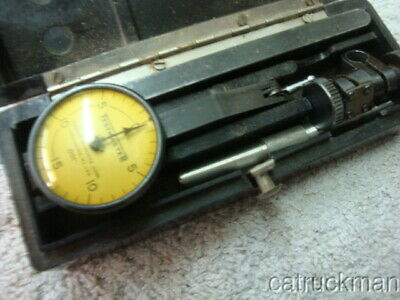 Federal Dial Test Indicator Set In Latching Plastic Box