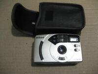 Nikon AF 240SV film type 35 mm camera. Include case $12