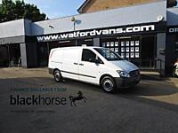 2013 Mercedes-Benz Vito 113 2.1 CDi 136ps LWB Twin SLD Diesel white Manual