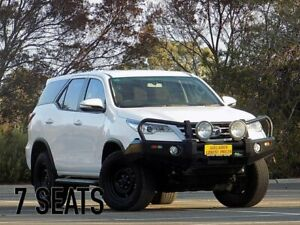 2017 Toyota Fortuner GUN156R GX White 6 Speed Automatic Wagon Strathalbyn Alexandrina Area Preview