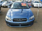2004 Subaru Liberty B4 MY04 AWD Blue 5 Speed Manual Sedan Minchinbury Blacktown Area Preview