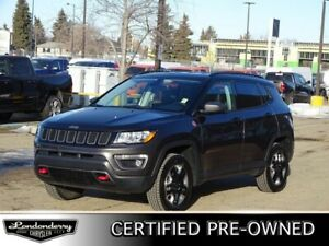 2018 Jeep Compass 4WD TRAILHAWK Accident Free,  Leather,  Heated