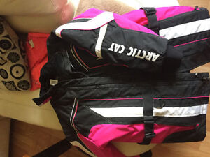 Ladies XL Arctic Cat jacket and Choko pants
