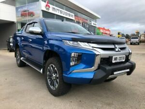 2019 Mitsubishi Triton MR MY19 GLS Double Cab Premium Blue 6 Speed Sports Automatic Utility Hoppers Crossing Wyndham Area Preview